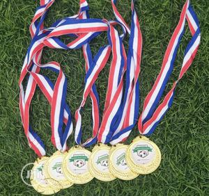 Gold Medal With Printing | Arts & Crafts for sale in Lagos State, Eko Atlantic