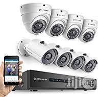 Live CCTV Monitoring On Mobile Phone For Home And Business 8 Camera | Security & Surveillance for sale in Lagos State