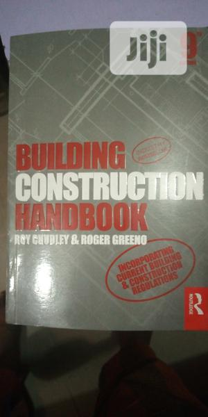 Building Con Struction Handbook   Books & Games for sale in Lagos State, Surulere