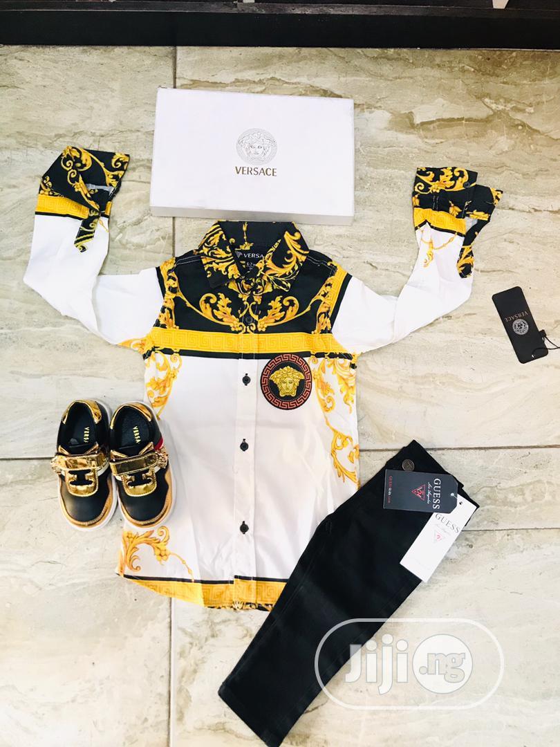Designer Shirt for Boys | Children's Clothing for sale in Lagos Island (Eko), Lagos State, Nigeria