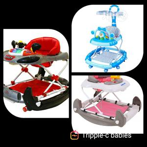 Lmv Super 2in1 Quality Baby Rocker Walker   Children's Gear & Safety for sale in Lagos State, Ojo