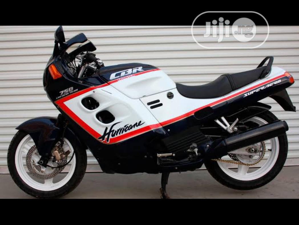 Honda CBR 1987 White   Motorcycles & Scooters for sale in Port-Harcourt, Rivers State, Nigeria
