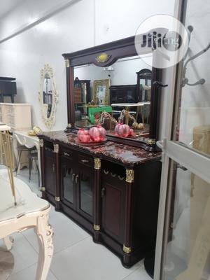 Quality Dinning Cabinet With Mirror | Furniture for sale in Abuja (FCT) State, Central Business Dis