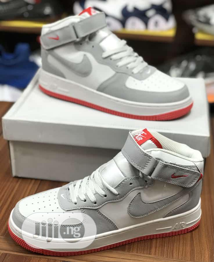 Nike Air Force 1 07 Mid High Top | Shoes for sale in Lagos Island (Eko), Lagos State, Nigeria