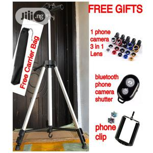 Portable Tripod Stand for Smartphones and Digital Cameras | Accessories & Supplies for Electronics for sale in Lagos State, Ikoyi