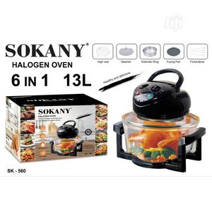 1500w 13L Sokany Halogen Air Fryer | Kitchen Appliances for sale in Lagos State, Surulere