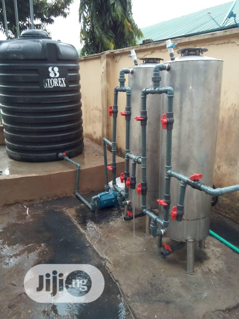 (16 by 4 Size) Stainless Water Treatment