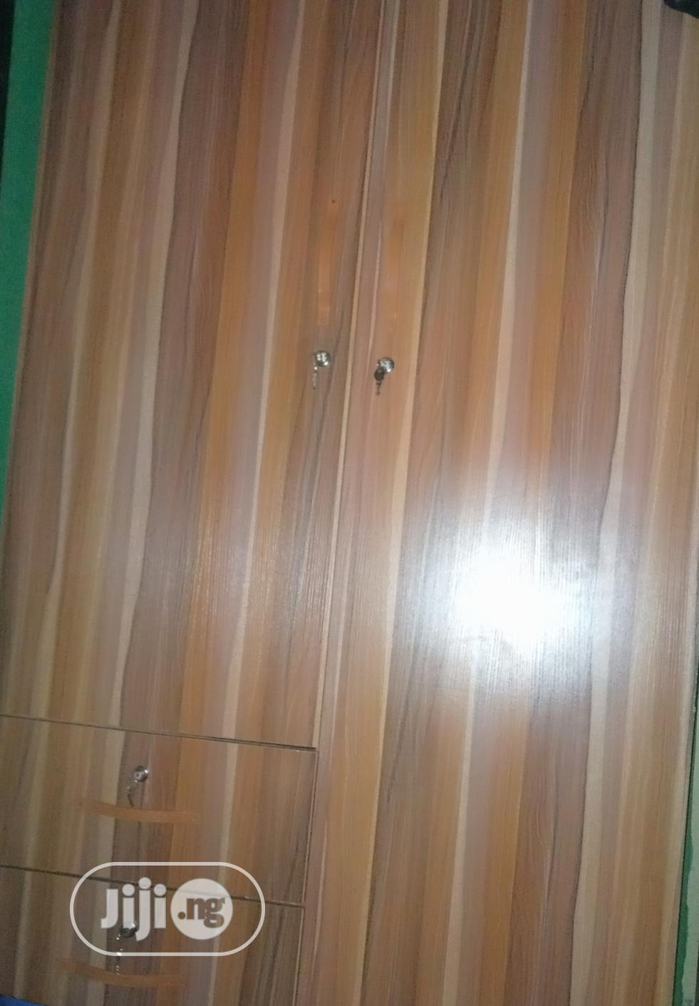 Imported HDF Wardrobe With Standard Measurements | Furniture for sale in Agege, Lagos State, Nigeria