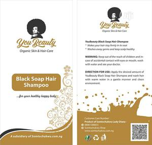 Youbeauty Black Soap Hair Shampoo For Healthy Hair | Hair Beauty for sale in Lagos State, Ikeja