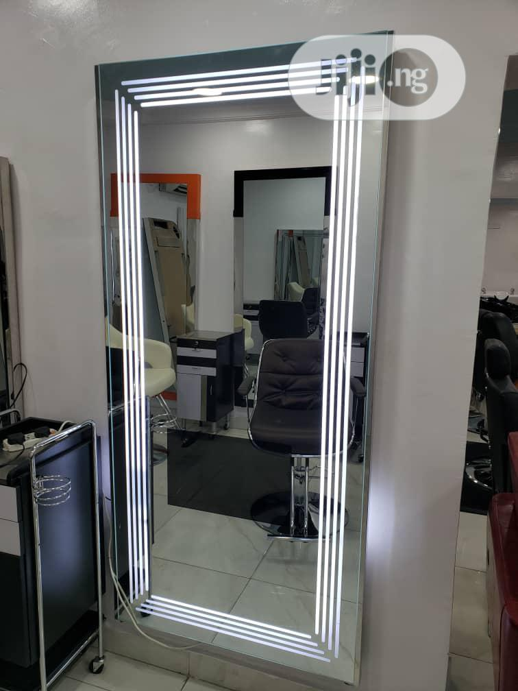 Brand New Standing Mirror With TV