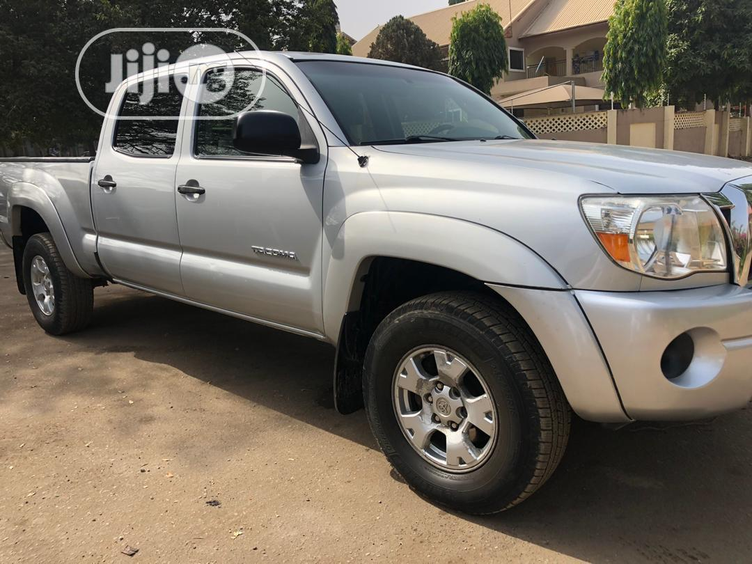 Archive: Toyota Tacoma 2008 4x4 Double Cab Silver