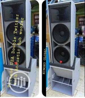 Titanic USA Double Twitter With Sub Woofer   Audio & Music Equipment for sale in Lagos State, Ojo