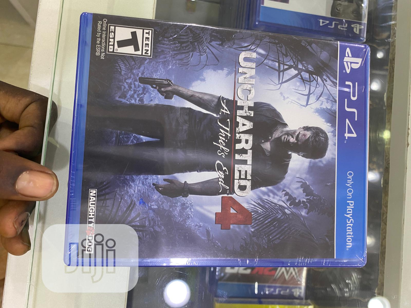 UNCHARTED 4 a Thief'S End   Video Games for sale in Wuse 2, Abuja (FCT) State, Nigeria