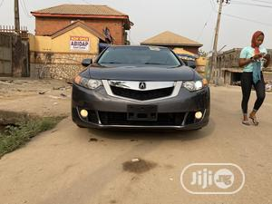 Acura TSX 2009 Automatic Tech Package Gray   Cars for sale in Lagos State, Alimosho