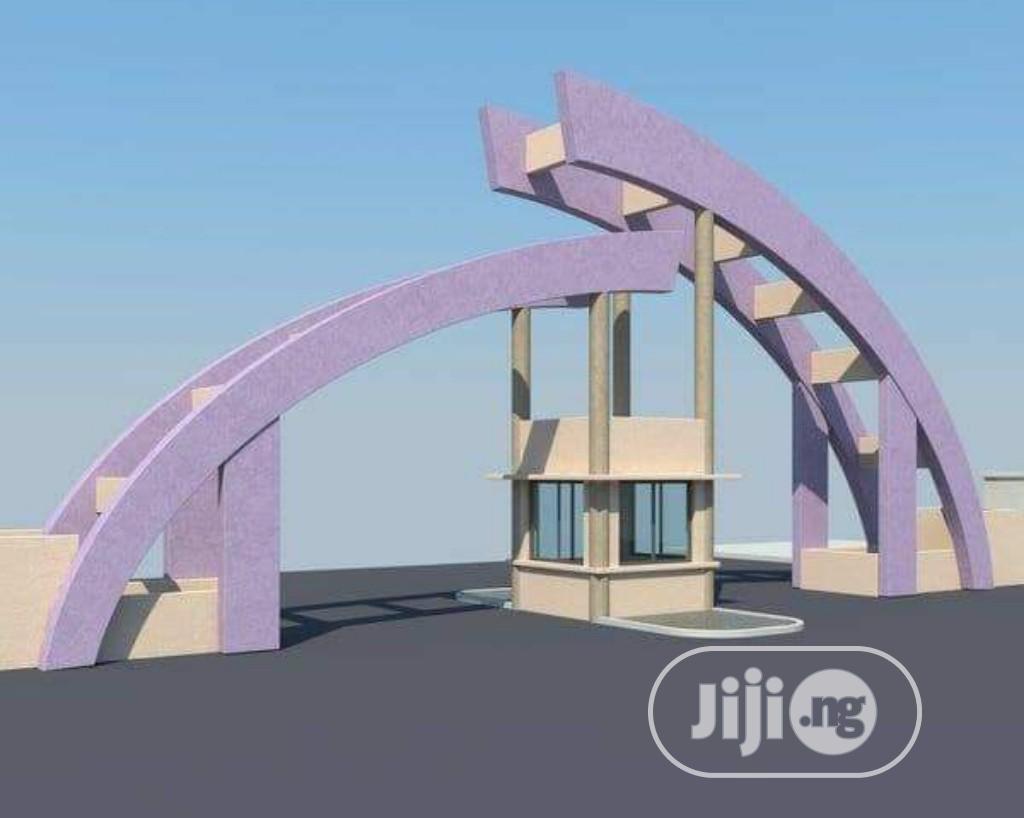 School, Organization Gate Gate House Construction