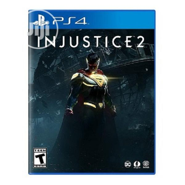 Ps4 Cd Injustice 2