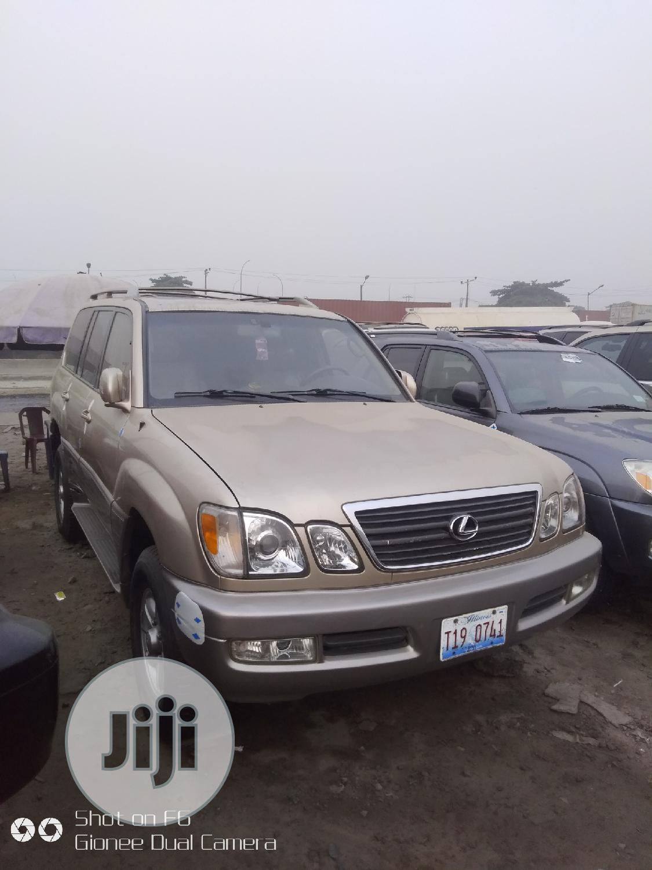 Lexus LX 2003 Gold | Cars for sale in Apapa, Lagos State, Nigeria