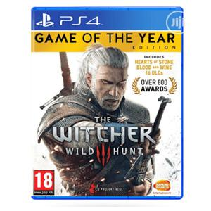 Ps4 Cd Witcher 3 Game of the Year | Video Games for sale in Lagos State, Ikeja