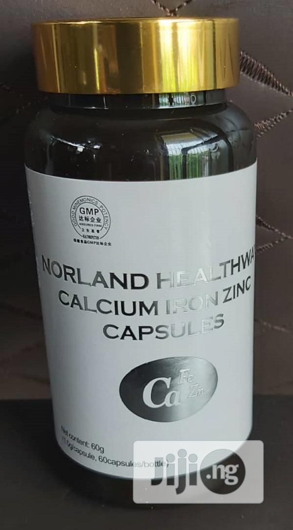 Norland Calcium Iron and Zinc for Arthritis