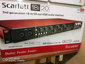 Scarlett 18!20   Audio & Music Equipment for sale in Lagos State, Ikeja
