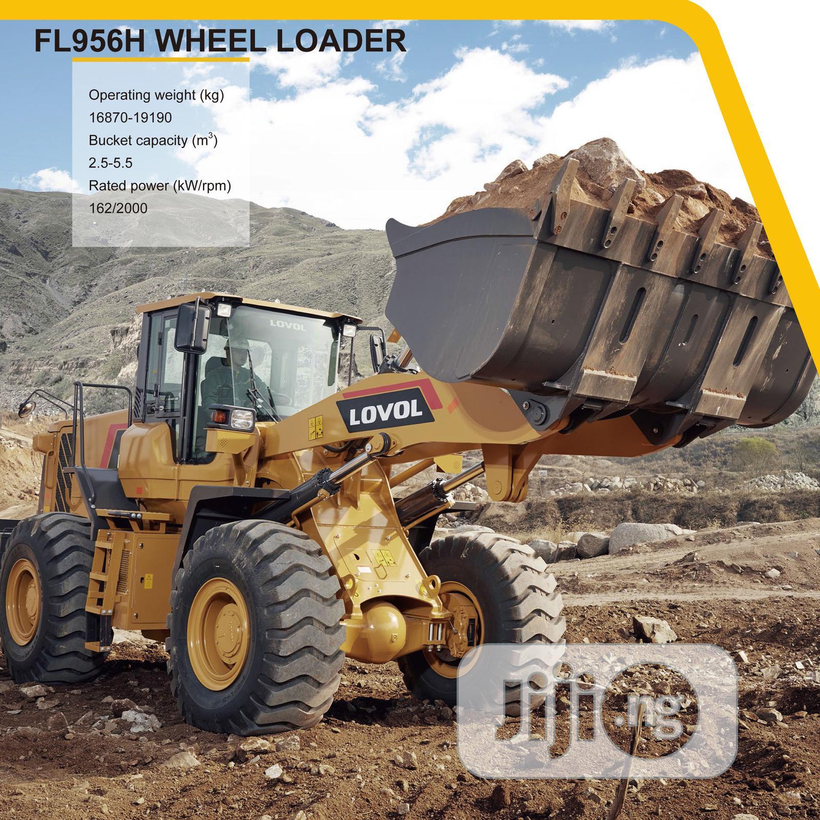Brand New LOVOL Wheel Loader   Heavy Equipment for sale in Ikeja, Lagos State, Nigeria