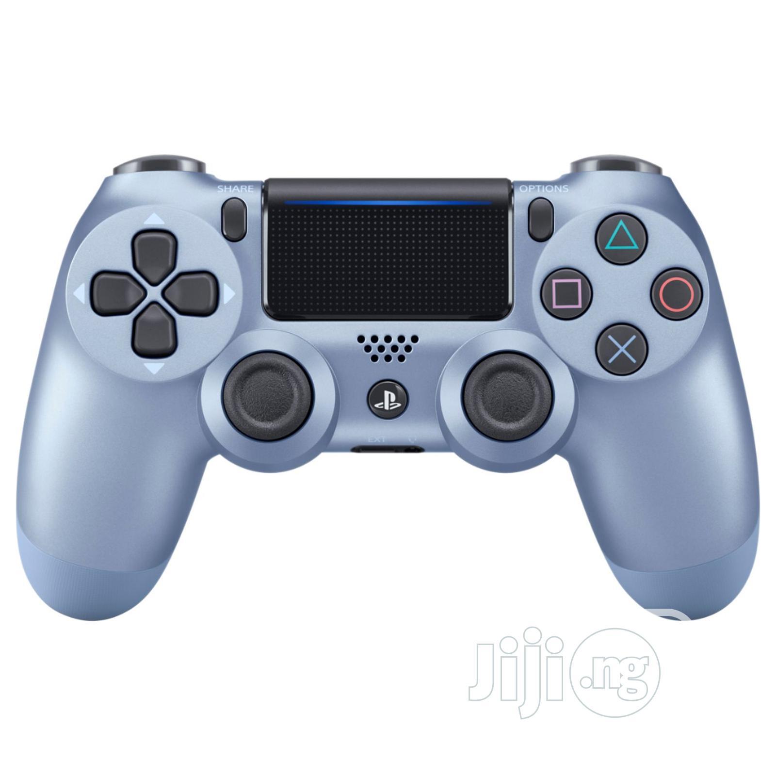 Ps4 Dual Shock Controller Titanium Blue