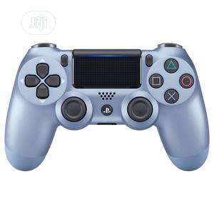 Ps4 Dual Shock Controller Titanium Blue | Video Game Consoles for sale in Lagos State, Ikeja