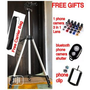 Tripod Stand for Digital Cameras, Smartphones, Camcorders | Accessories & Supplies for Electronics for sale in Lagos State, Ikeja