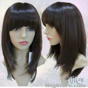 Wig Hair Fringe Long Wig Cap | Hair Beauty for sale in Plateau State, Jos