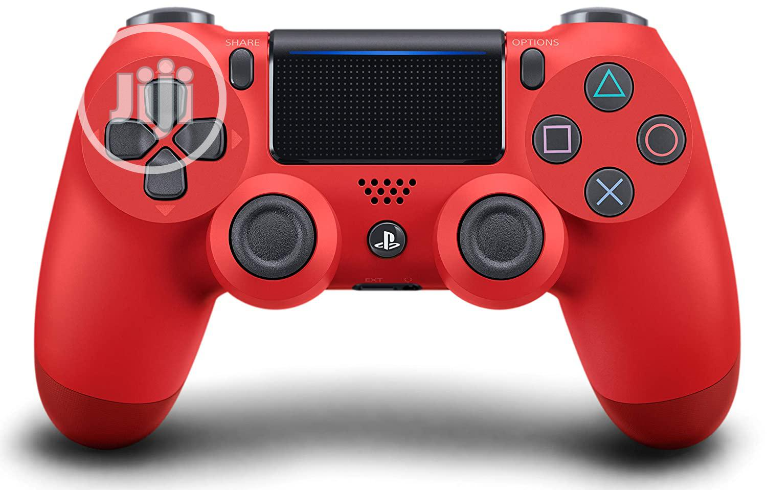 Ps4 Dual Shock Wireles Controler Red