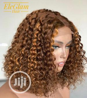 Double Drawn Full Closure Luxury Wig.Piano 4/30.Human Hair | Hair Beauty for sale in Oyo State, Ibadan