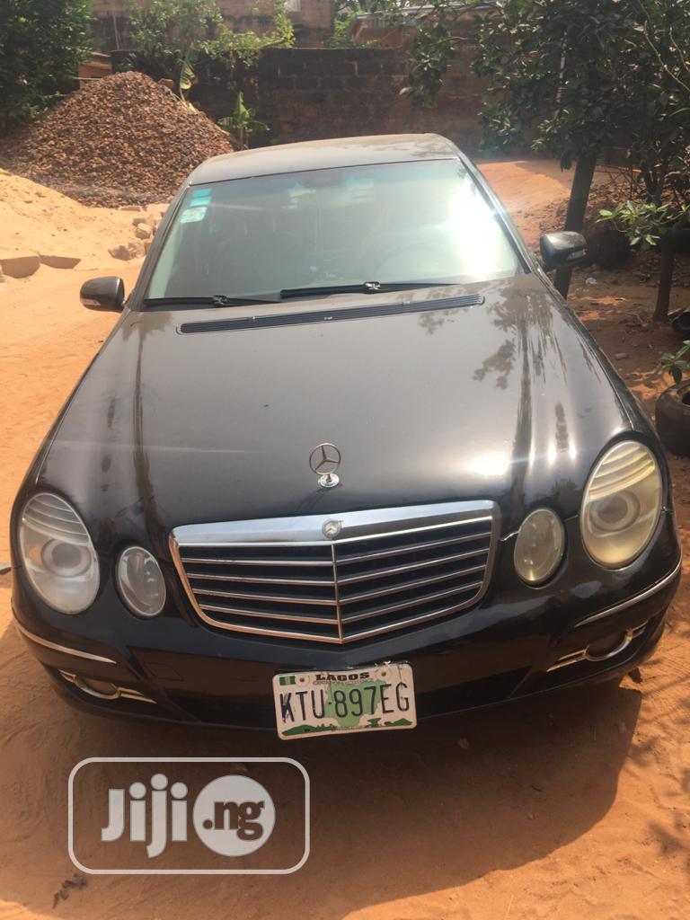 Mercedes-Benz E500 2005 500 Sedan Black | Cars for sale in Ibeju, Lagos State, Nigeria