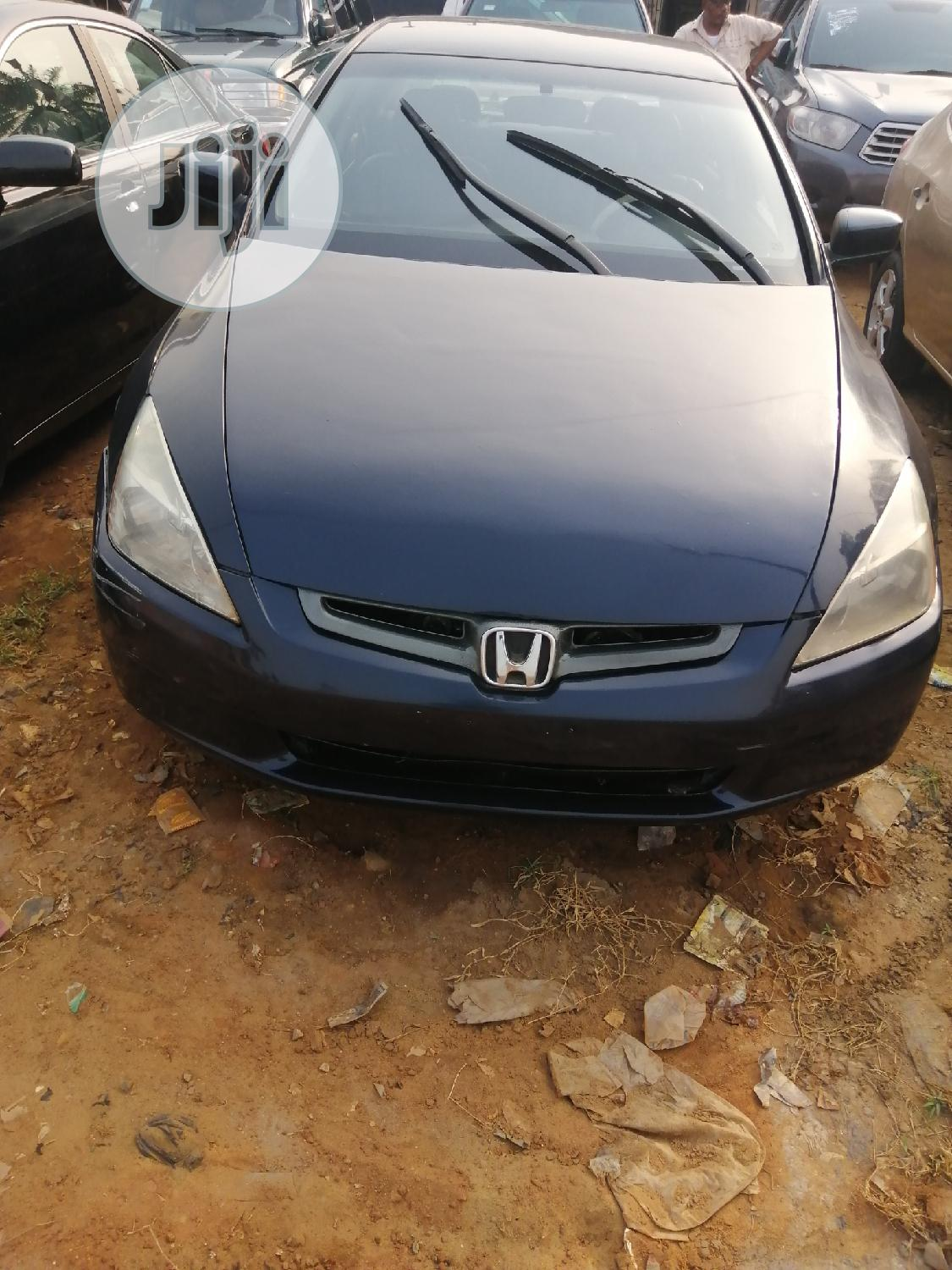 Archive: Honda Accord 2005 2.4 Type S Automatic Blue