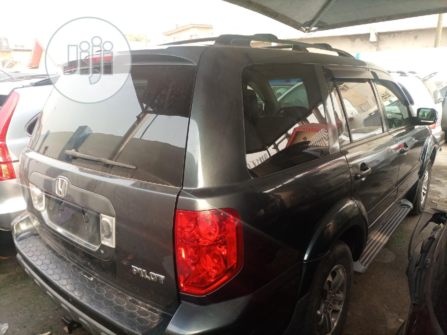 Honda Pilot 2005 Gray | Cars for sale in Ifako-Ijaiye, Lagos State, Nigeria