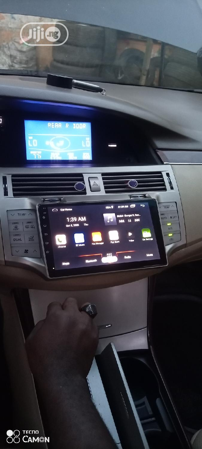 Toyota Avalon 2008 Android Screen With Reverse Camera