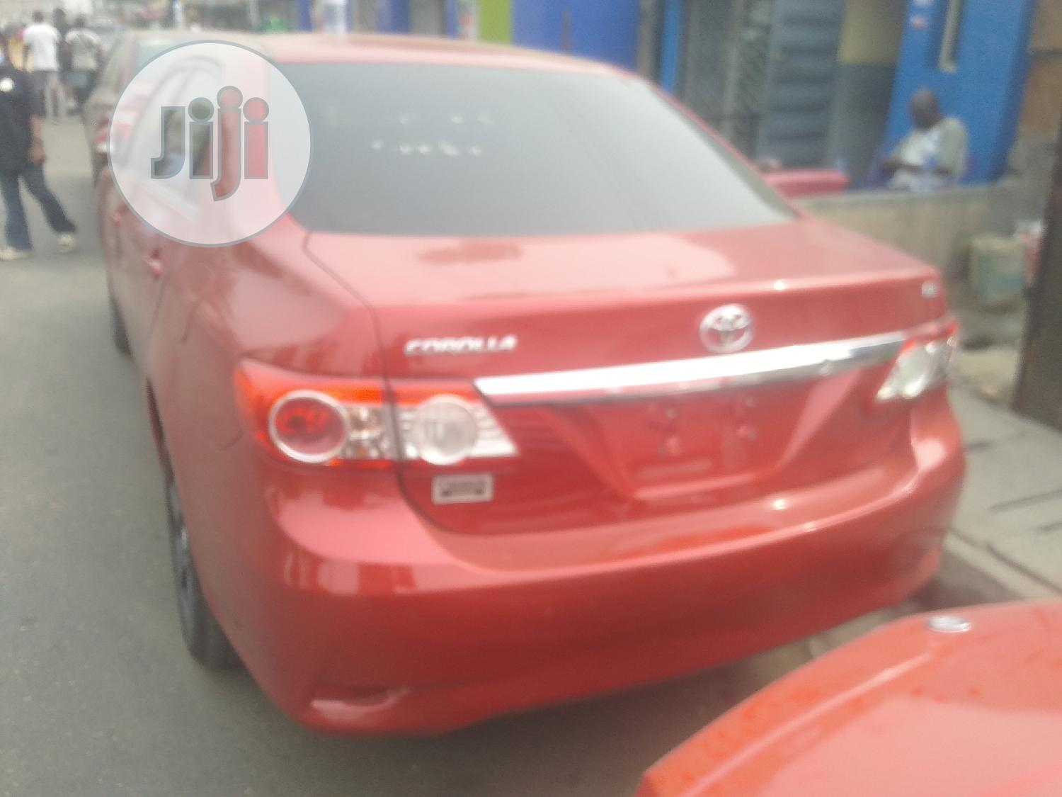 Archive: Toyota Corolla 2013 Red