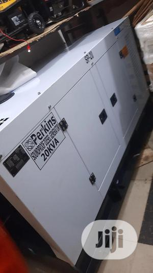 Perkins Generator 20kva Soundproof | Electrical Equipment for sale in Lagos State, Ojo