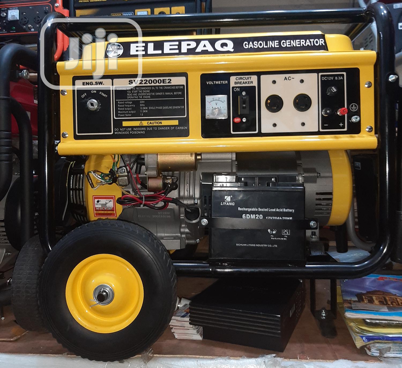 SV22000E2 10kva Elepaq Petrol Generator