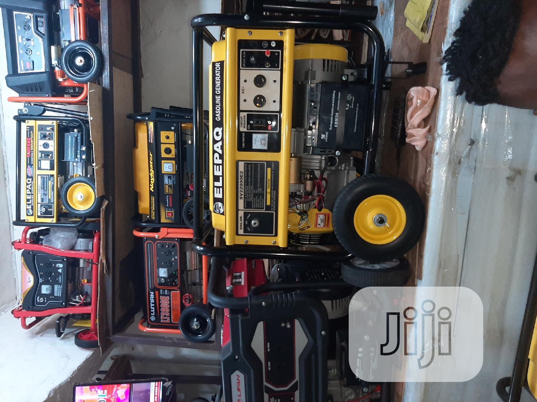 SV22000E2 10kva Elepaq Petrol Generator | Electrical Equipment for sale in Ojo, Lagos State, Nigeria