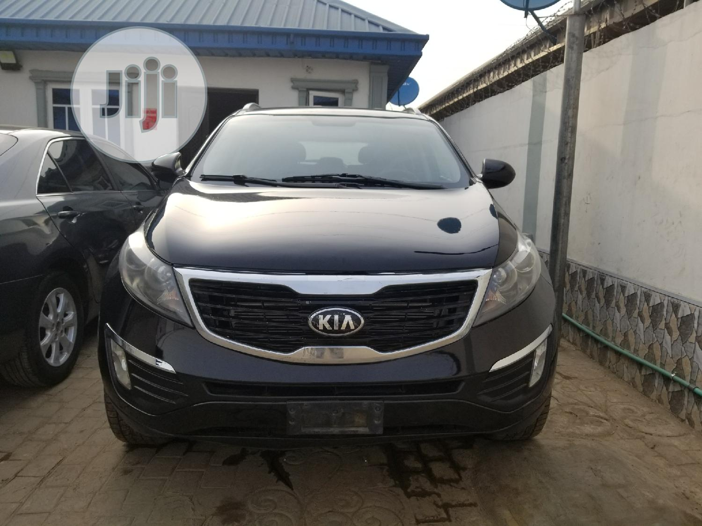 Kia Sportage 2011 Black | Cars for sale in Surulere, Lagos State, Nigeria