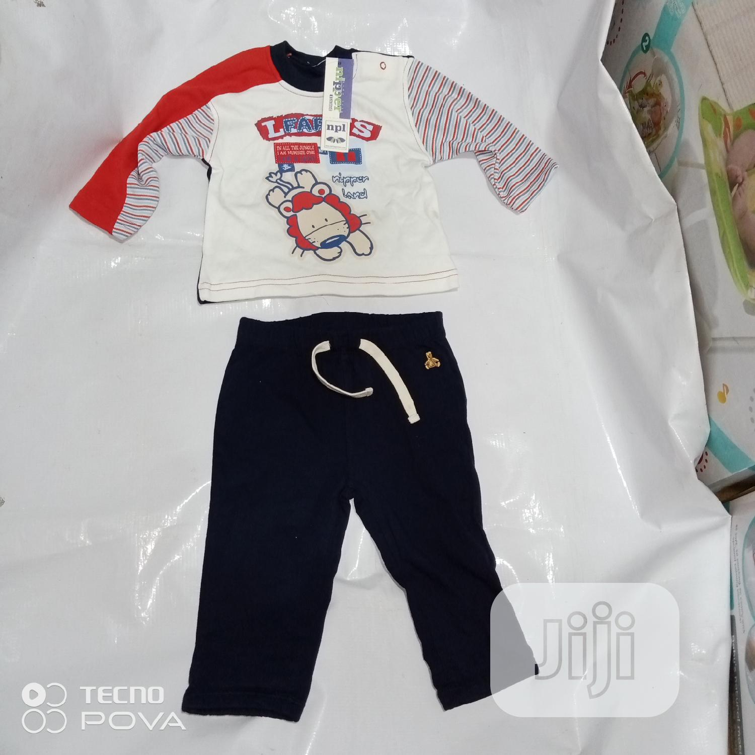 Tops and Joggers for Baby