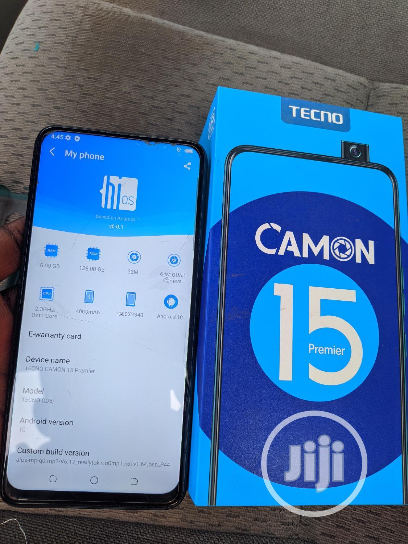 Tecno Camon 15 Premier 128 GB Blue