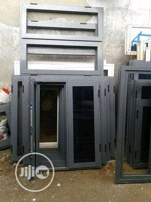 Buy EBM Casement Windows Gray Color   Windows for sale in Lagos State, Gbagada