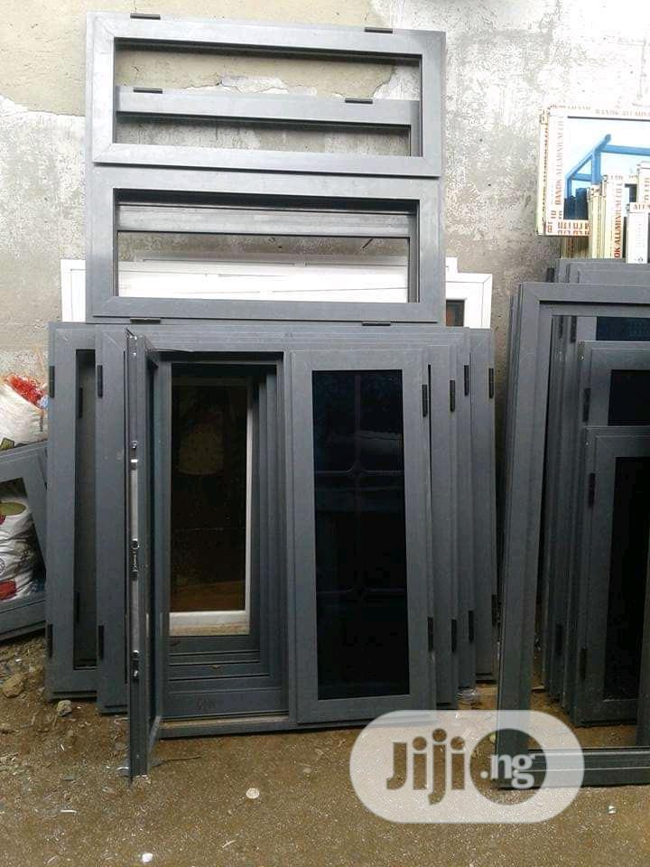 Buy EBM Casement Windows Gray Color