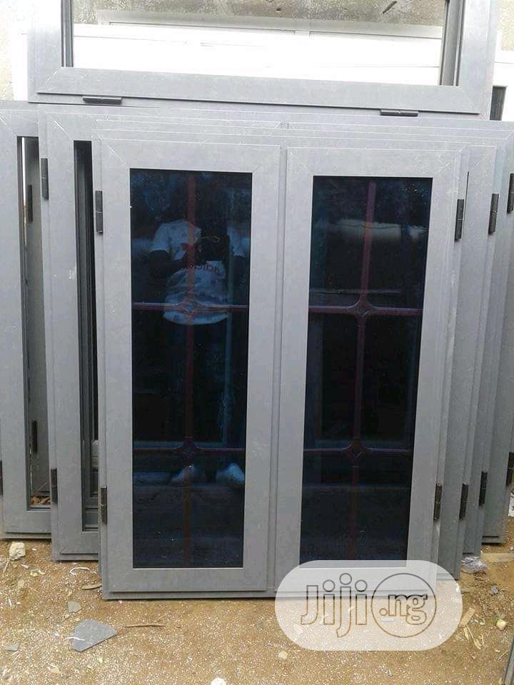Buy EBM Casement Windows Gray Color   Windows for sale in Gbagada, Lagos State, Nigeria