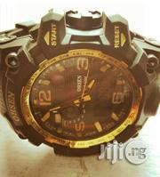 Original Ohsen Analog and Digital Rubber Wrist Watch | Watches for sale in Lagos State, Lagos Island