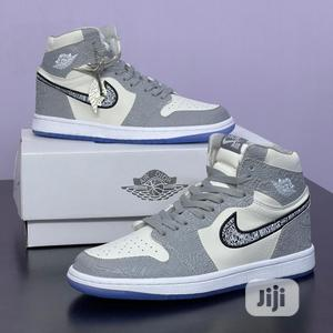 "Original Dior X Jordan 1 ""Grey"" Sneaker | Shoes for sale in Lagos State, Lagos Island (Eko)"