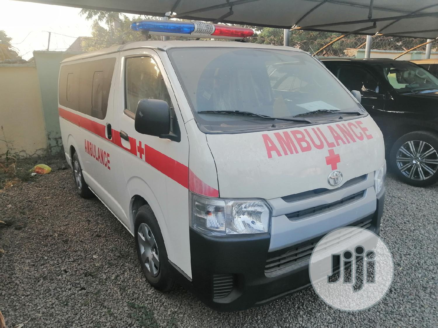 Come Check Out Dis Brand New 2019 Toyota Hiace Ambulance Bus
