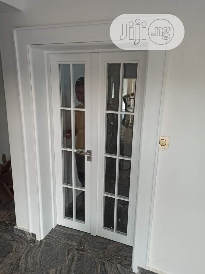 HDF Wooden Glossy Door