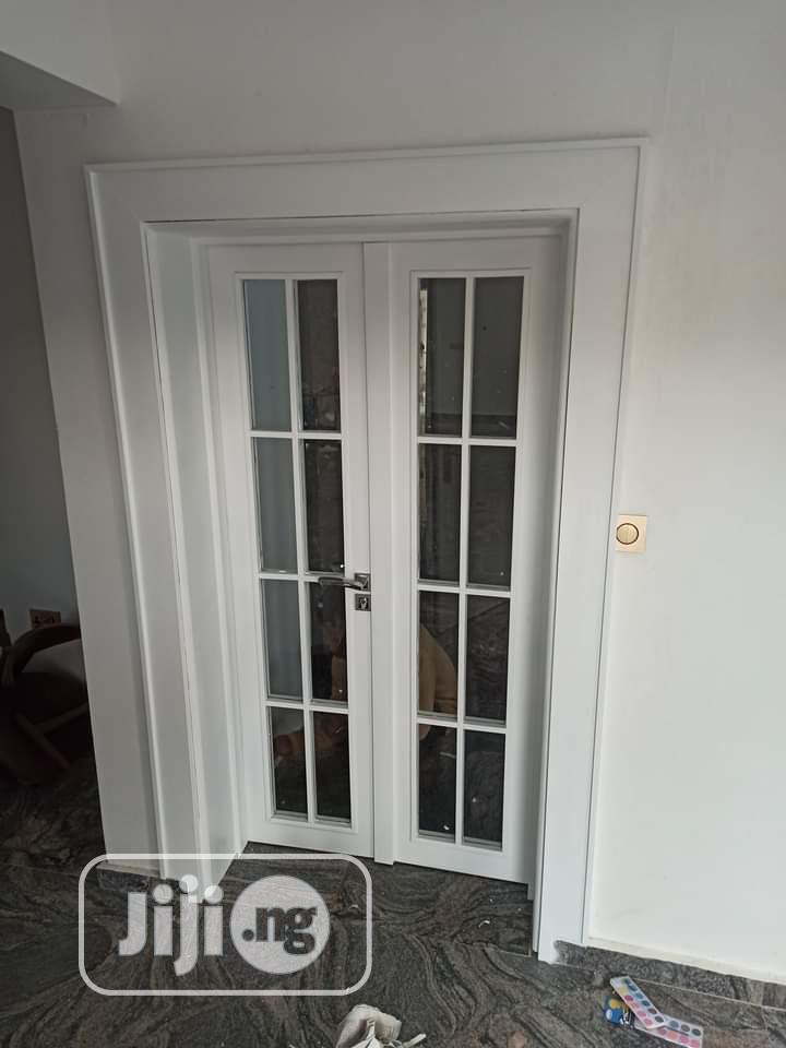 HDF Wooden Glossy Door   Doors for sale in Gwarinpa, Abuja (FCT) State, Nigeria
